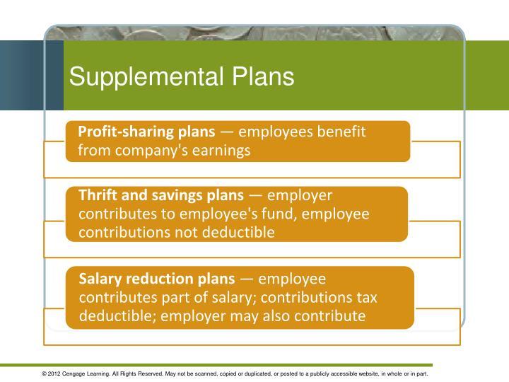Supplemental Plans