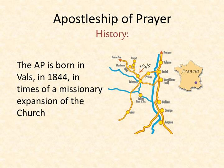 Apostleship of prayer history