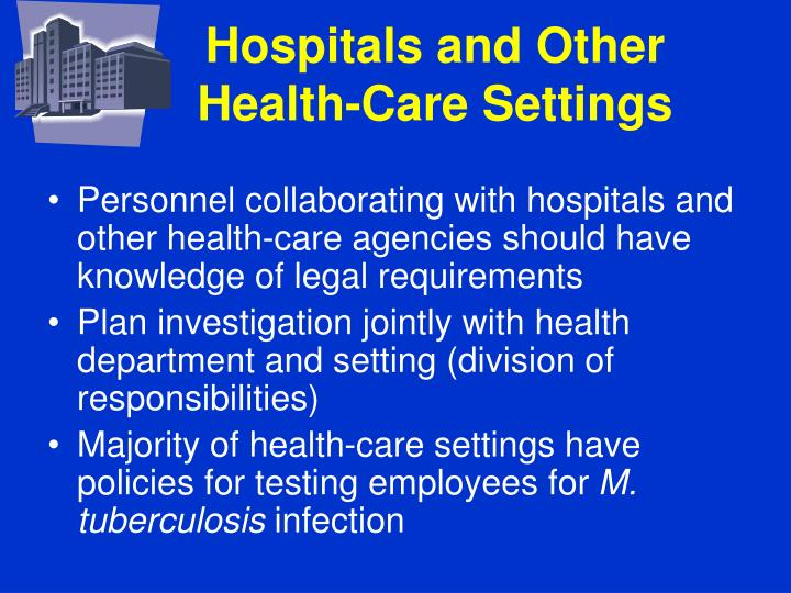 Hospitals and Other