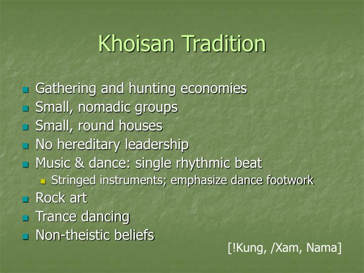 Khoisan Tradition