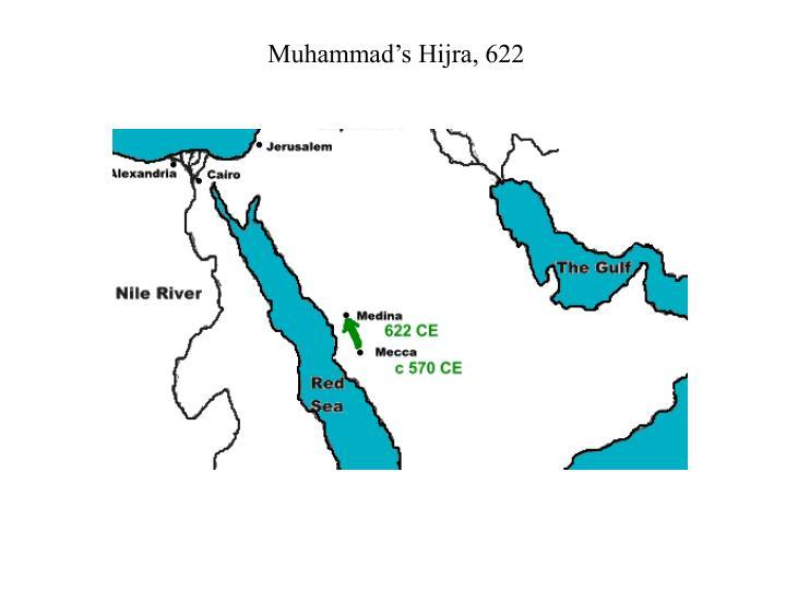 Muhammad's Hijra, 622
