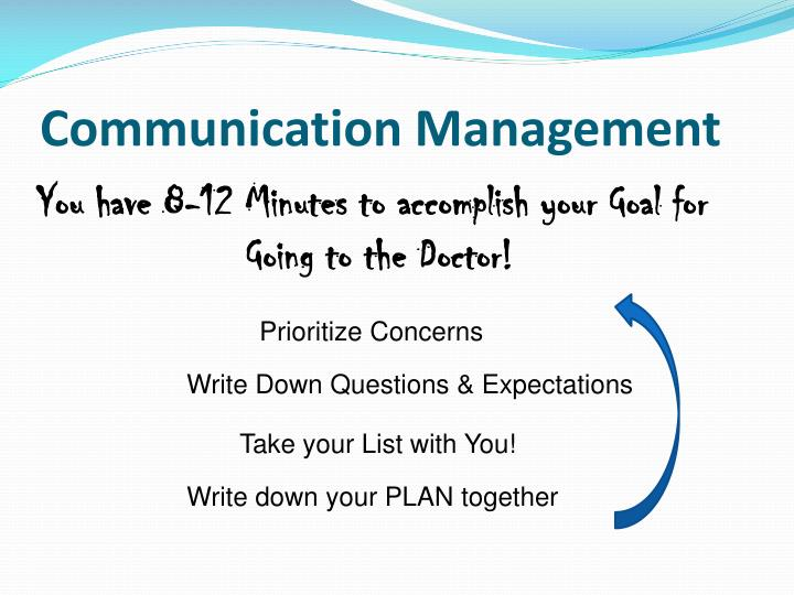 Communication Management