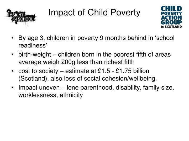 Impact of Child Poverty