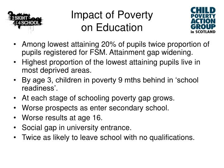 Impact of Poverty