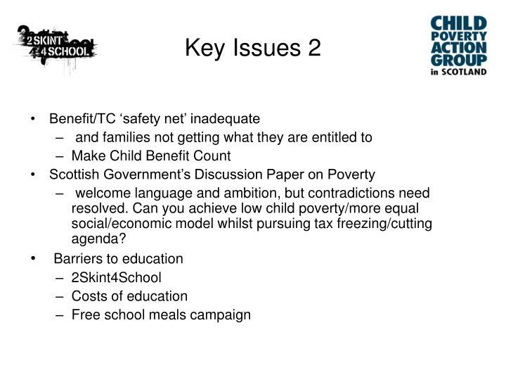 Key Issues 2