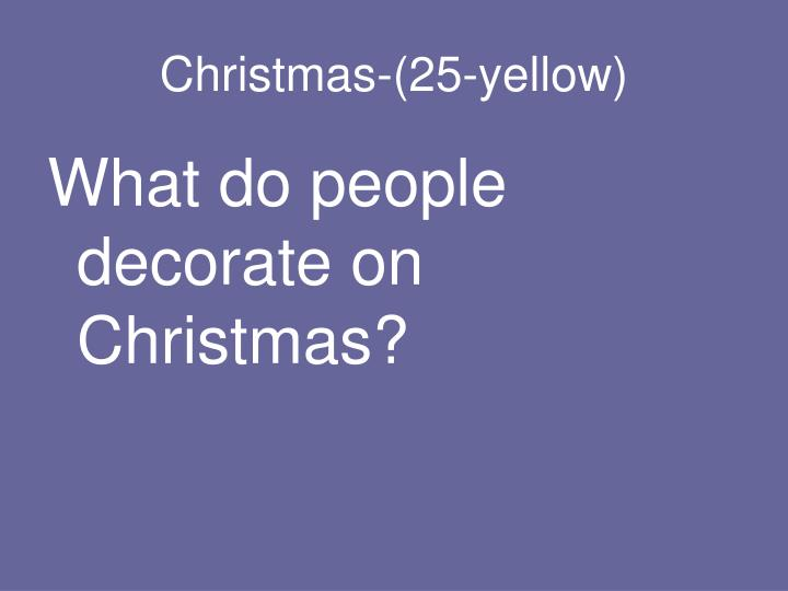 Christmas-(25-yellow)