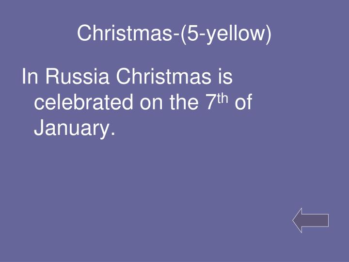 Christmas-(5-yellow)