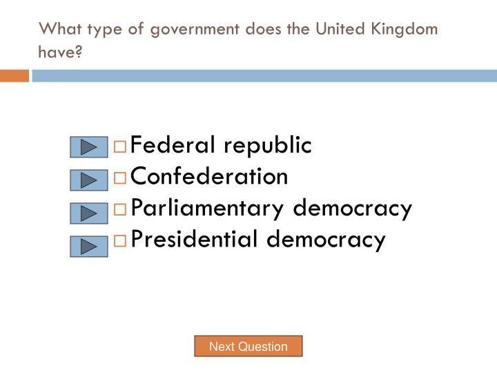 the democratic government of the united kingdom The world factbook report threats the parliamentary democracy (legislature) part of the kingdom of the netherlands: australia: united kingdom.