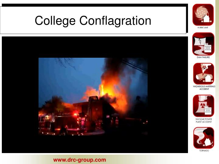 College Conflagration
