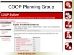 coop planning group5