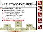 coop preparedness before1