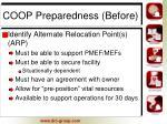 coop preparedness before10