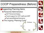 coop preparedness before13