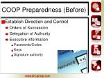 coop preparedness before3