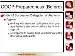 coop preparedness before4