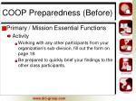 coop preparedness before6