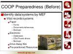 coop preparedness before7