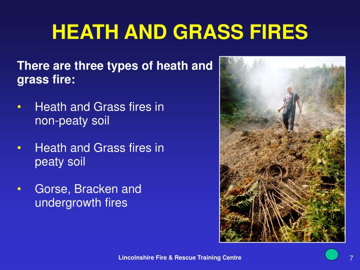 HEATH AND GRASS FIRES