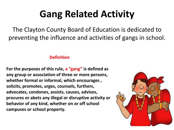 Gang Related Activity