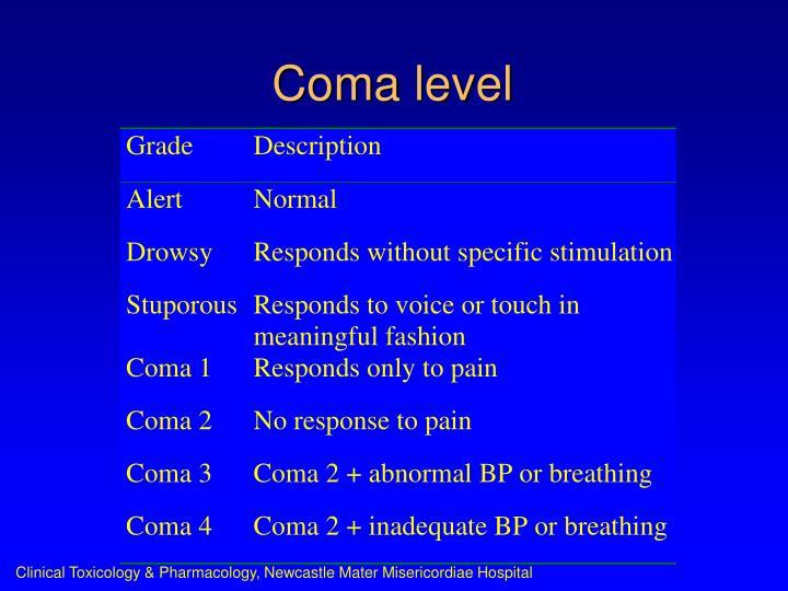 Coma level