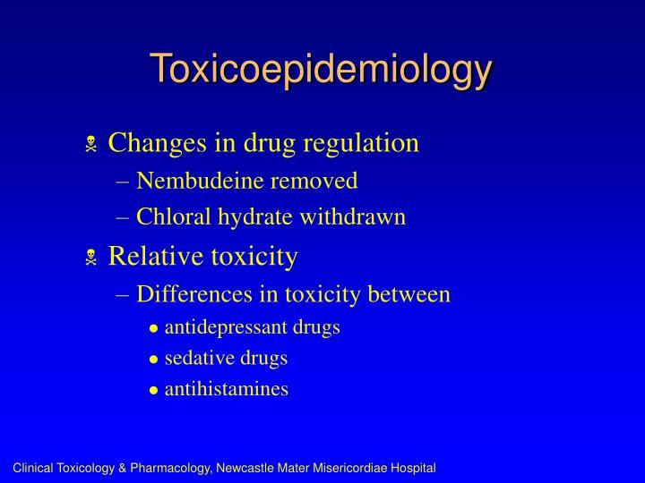 Toxicoepidemiology