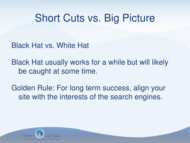 Black Hat vs. White Hat