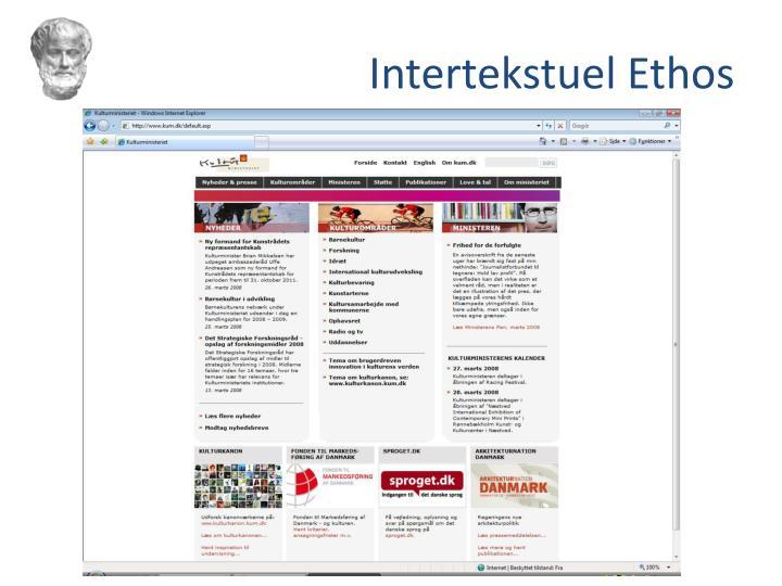 Intertekstuel Ethos