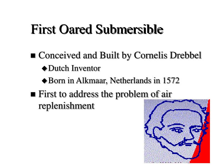 First oared submersible