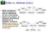 entity vs attribute cont