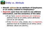 entity vs attribute