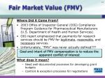 fair market value fmv