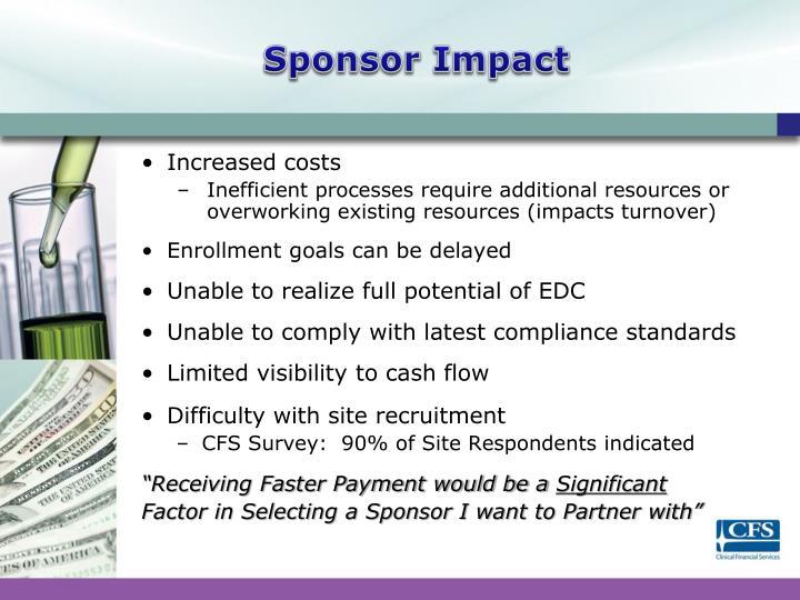 Sponsor Impact
