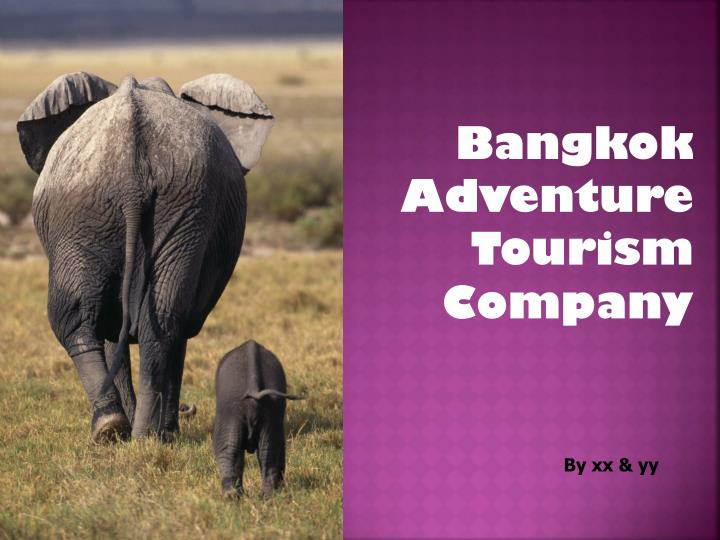 Bangkok Adventure Tourism