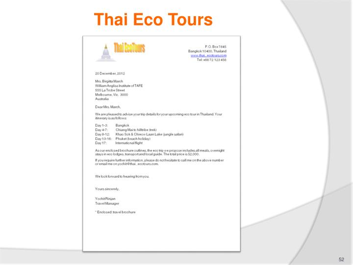 Thai Eco Tours