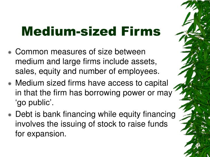 Medium-sized Firms