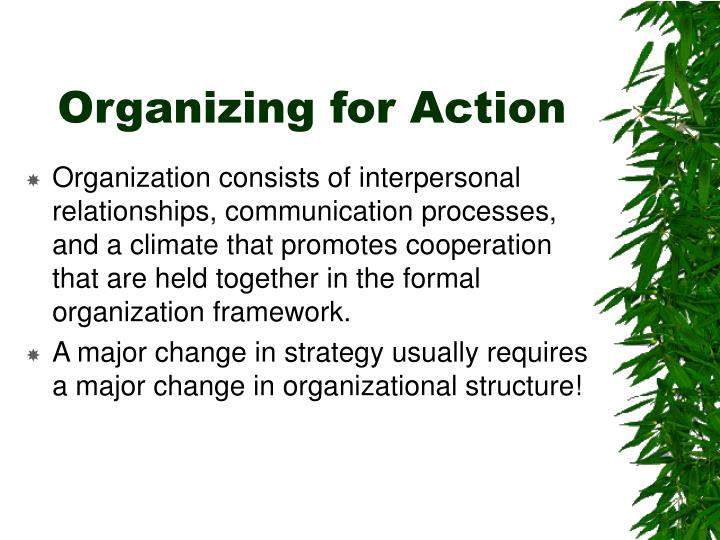 Organizing for Action