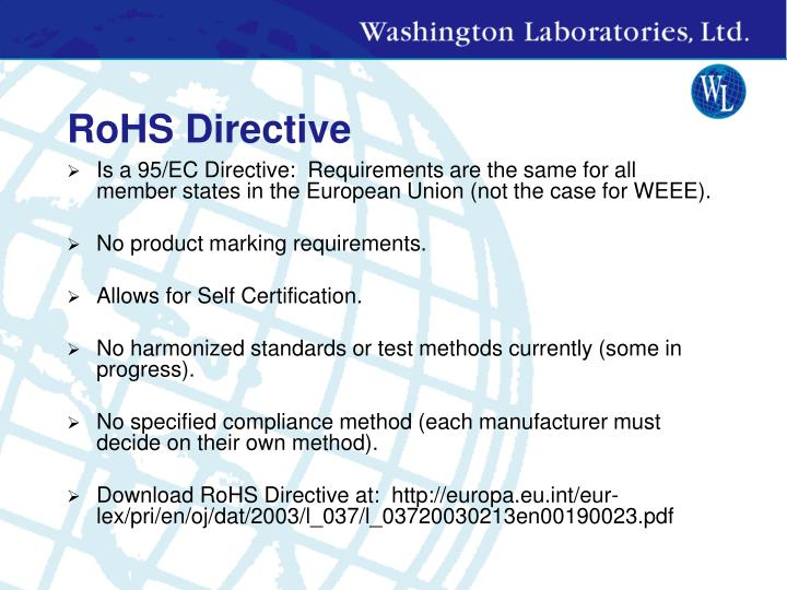 RoHS Directive