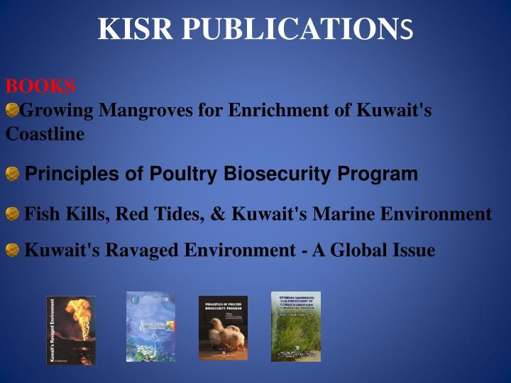 KISR PUBLICATION