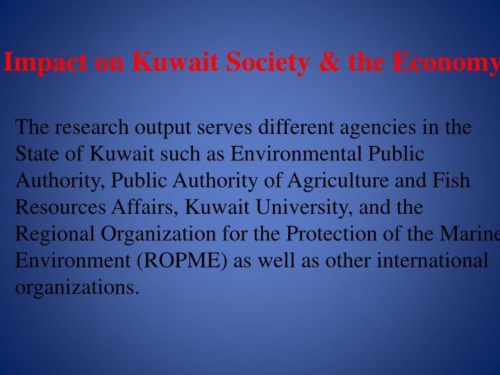 Impact on Kuwait Society & the Economy
