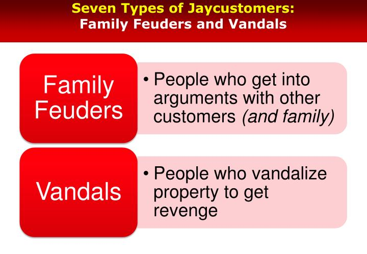 Seven Types of Jaycustomers: