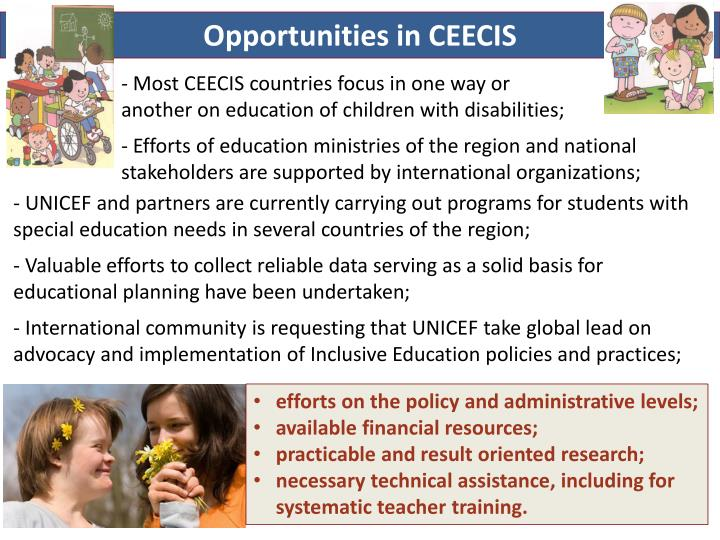 Opportunities in CEECIS