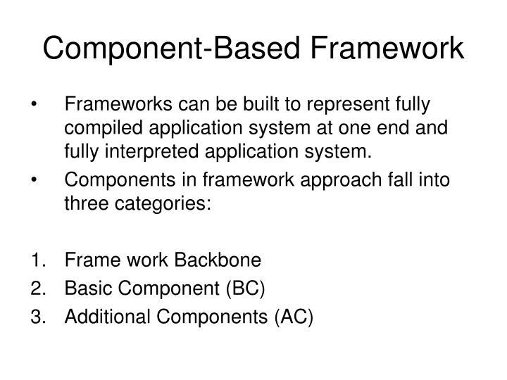 Component-Based Framework