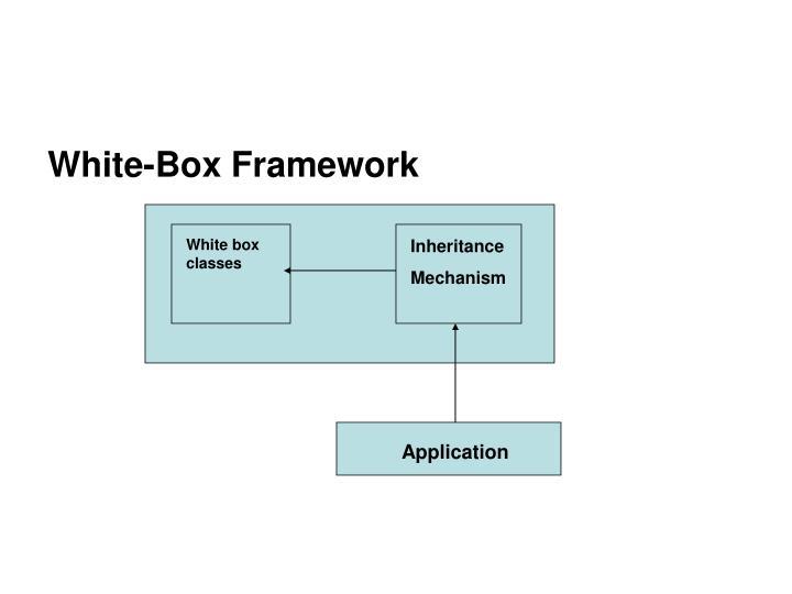 White box classes