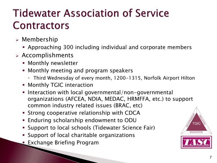 Tidewater Association of Service Contractors