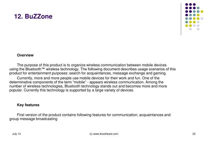 12. BuZZone