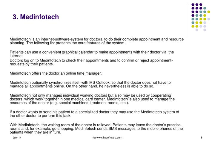 3. Medinfotech