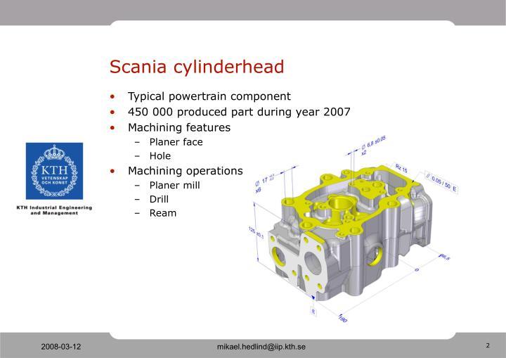 Scania cylinderhead