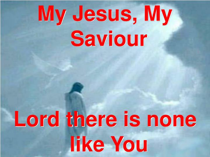 My Jesus, My Saviour