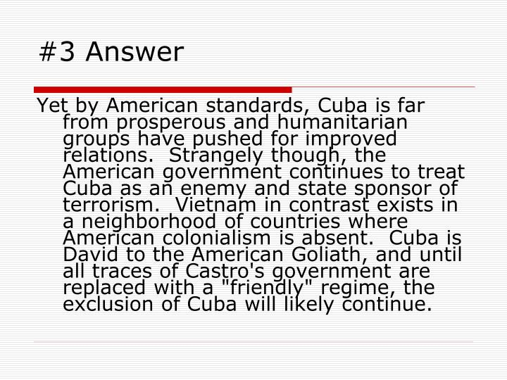 #3 Answer