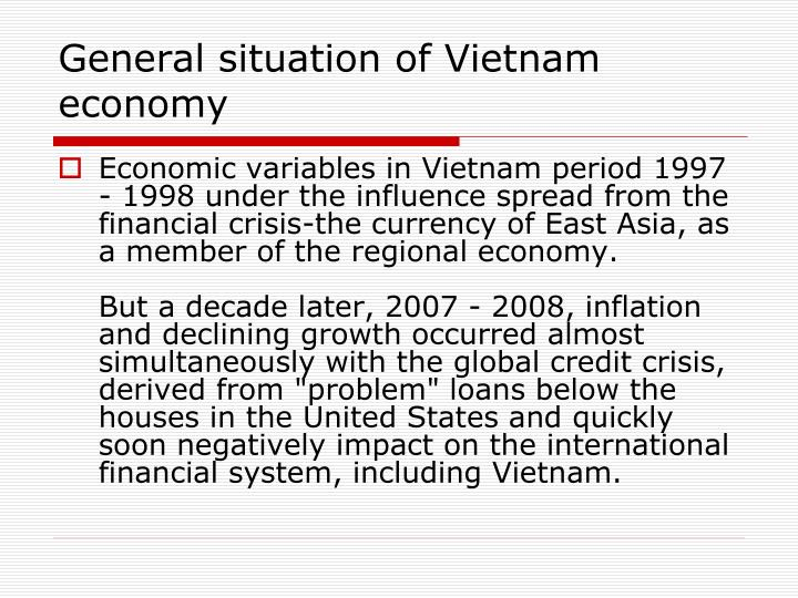 General situation of Vietnam economy